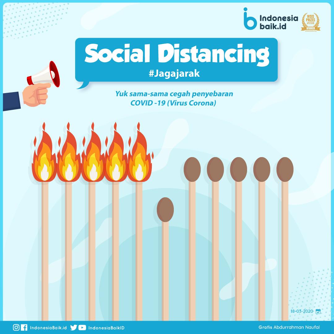 Sosial Distancing  - #JagaJarak