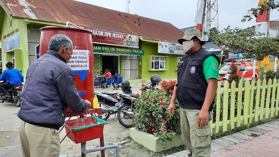 Pemerintah Kabupaten Humbang Hasundutan Terapkan Sanksi dan Penegakan Hukum Protokol Kesehatan Covid-19 Dengan 51 Pelanggar