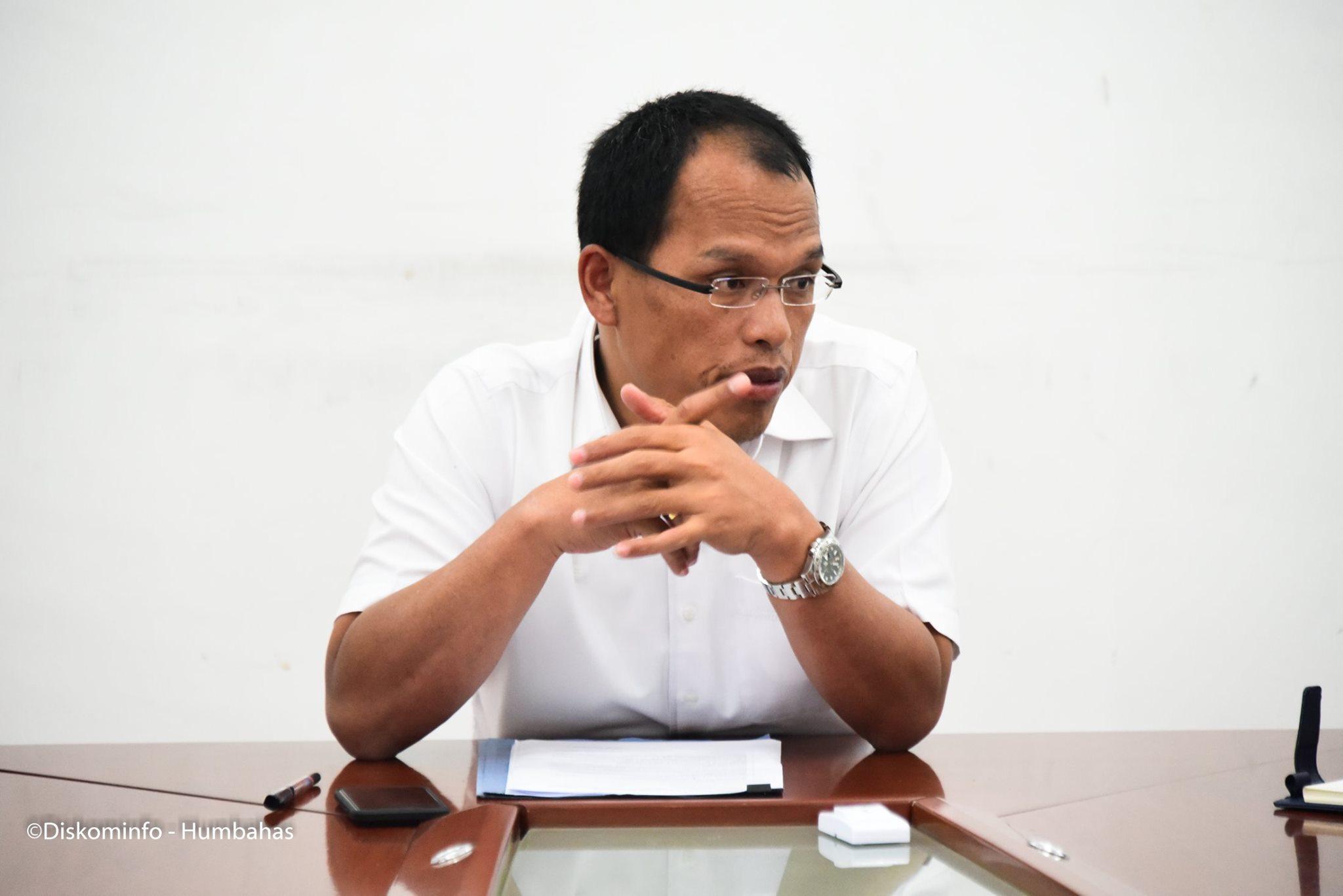 Bupati Humbang Hasundutan Dosmar Banjarnahor SE, Pimpin Rapat FORKOPIMDA Antisipasi Covid-19