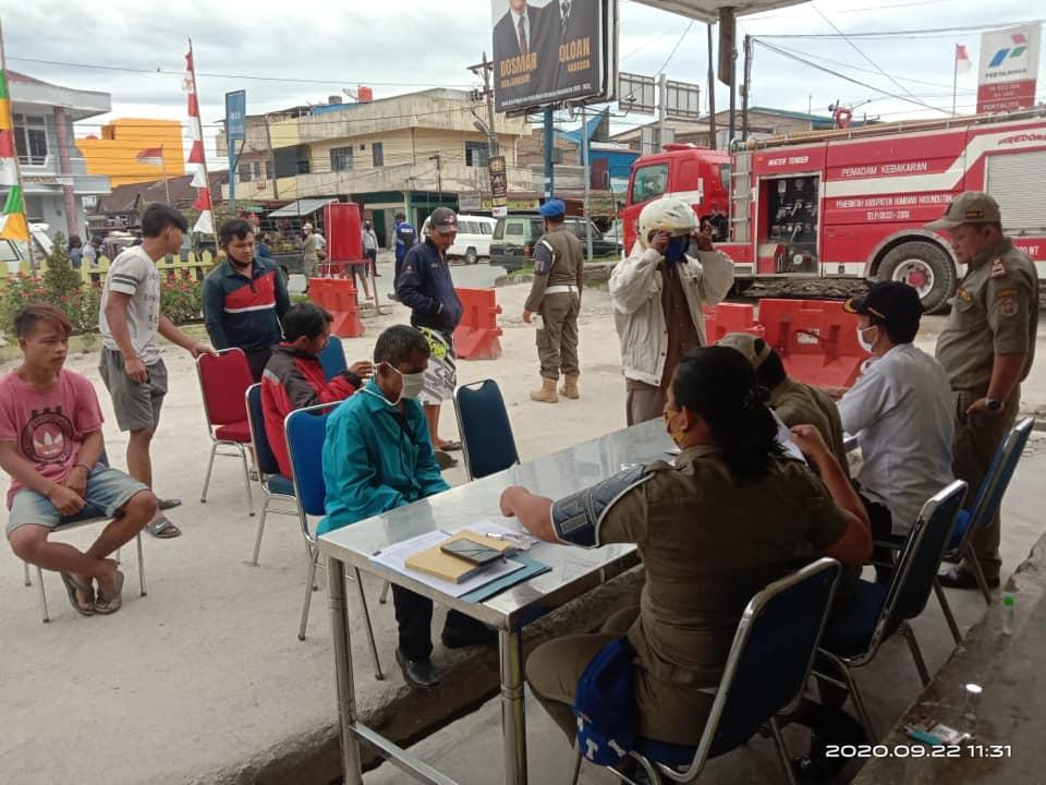 Pemerintah Kabupaten Humbang Hasundutan Terapkan Sanksi dan Penegakan Hukum Protokol Kesehatan Covid-19