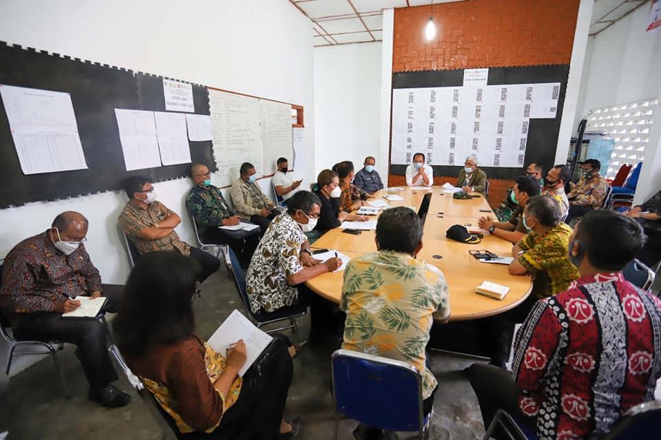 Rapat Satgas Covid-19 Kabupaten Humbang Hasundutan
