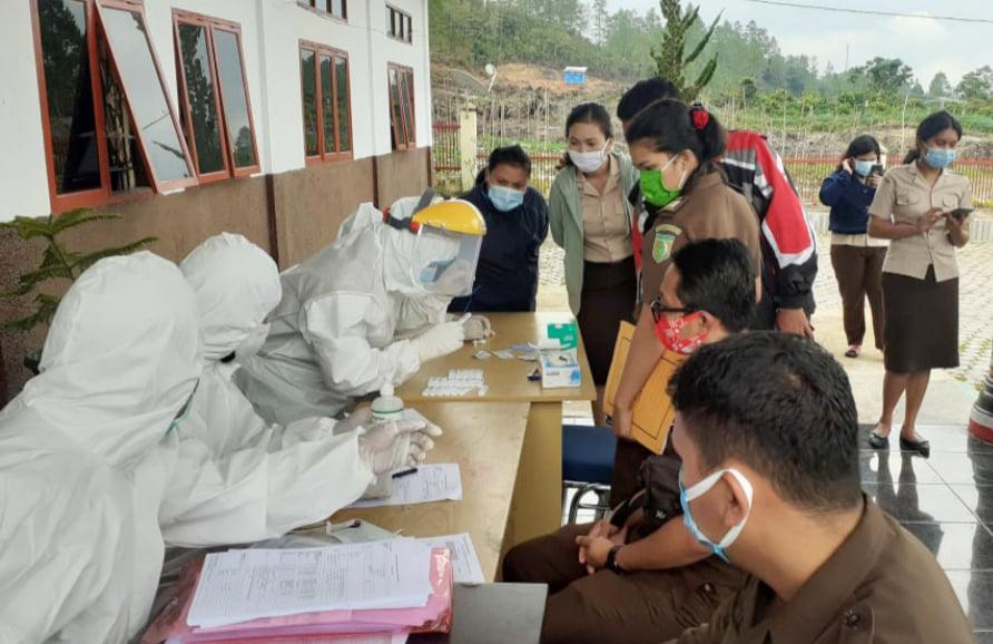 Penanggulangan Peningkatan Kasus Terkonfirmasi Positif COVID-19 di Wilayah Kabupaten Humbang Hasundutan