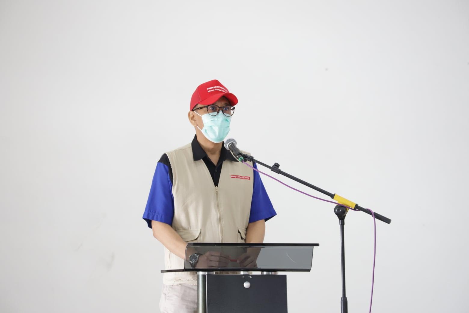 Mercy Corps Indonesia bersama The Starbucks Foundation Gandeng Pemkab Humbahas dalam Penanggulangan Covid-19