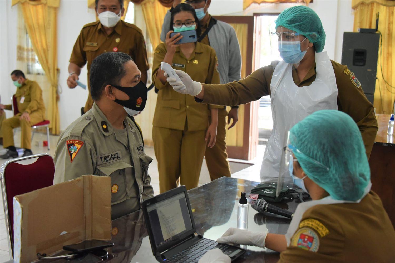 Humbang Hasundutan Akan Melaksanakan Vaksinasi Februari 2021 Sebanyak 890 Orang