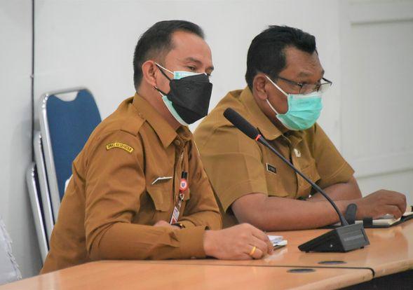 Wakil Bupati Humbahas Pimpin Rapat Gabungan Penanganan Covid-19