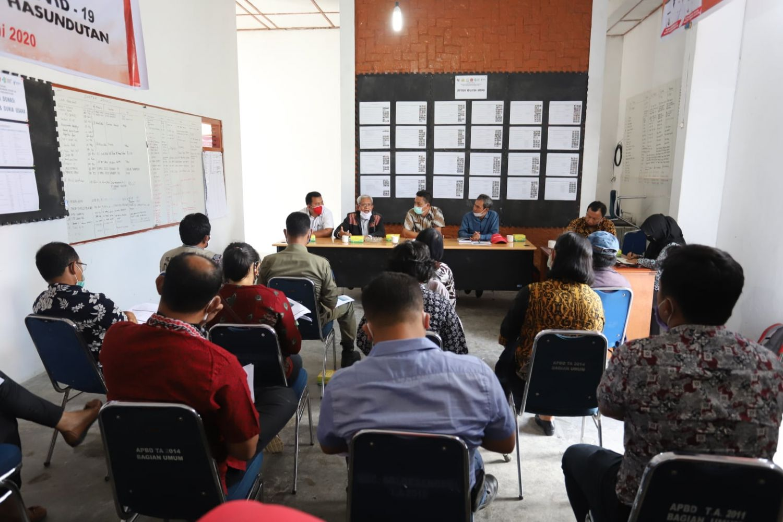 Mercy Corps Indonesia Gandeng Pemkab Humbahas dalam Program Penanggulangan Pandemi Covid-19