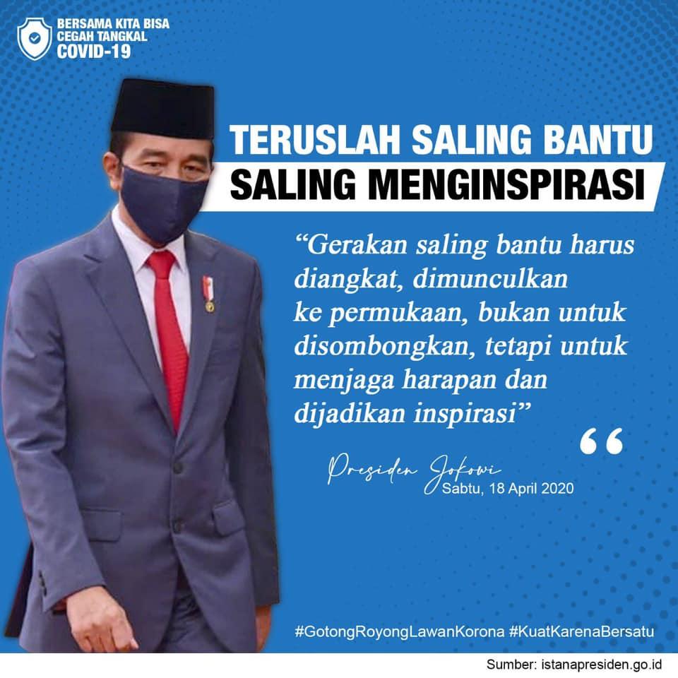 Pesan dari Presiden Republik Indonesia Ir. Joko Widodo: