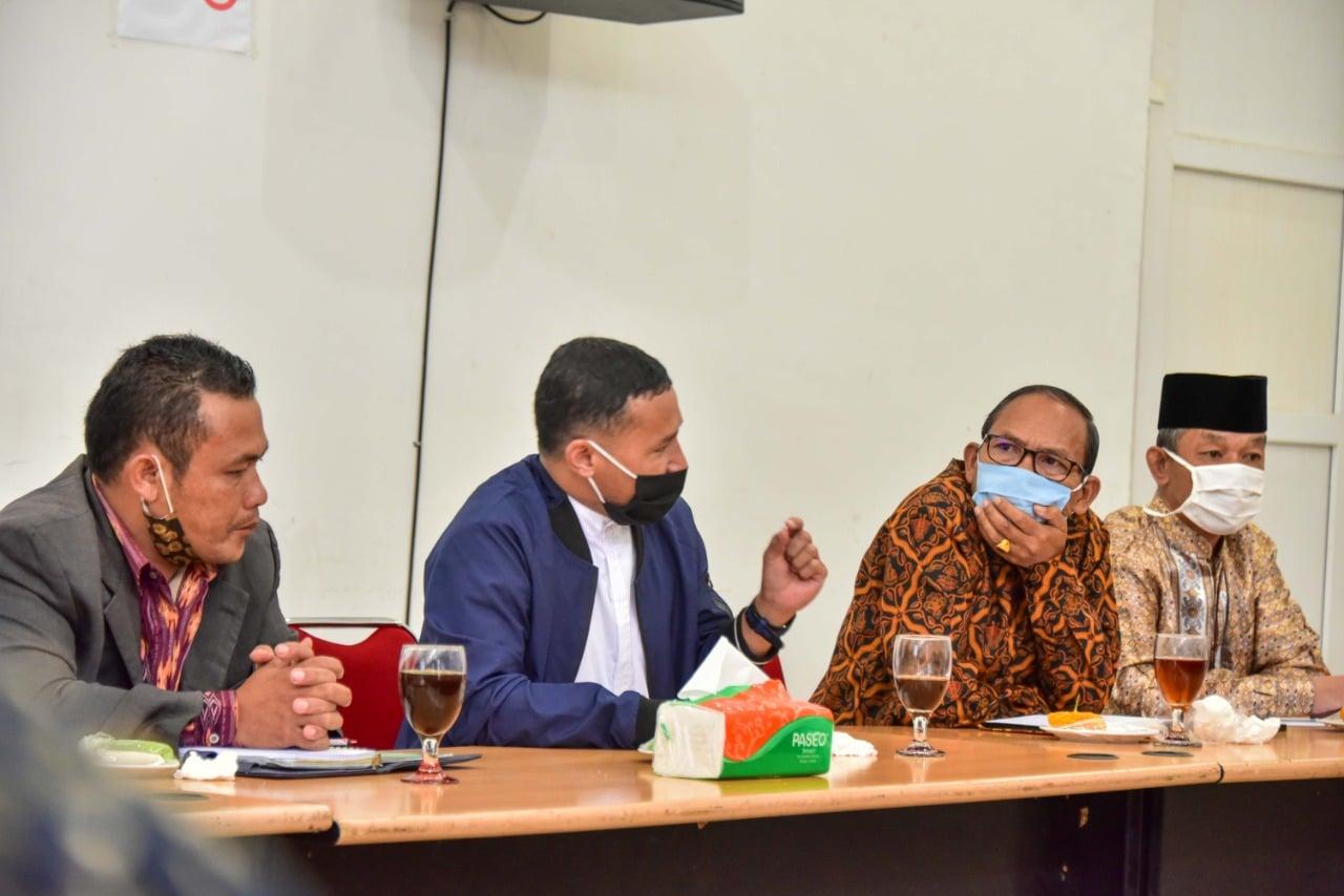 Pemkab Humbahas Rapat Bersama Tokoh Masyarakat Rencana Pelaksanaan Adat Pada New Normal