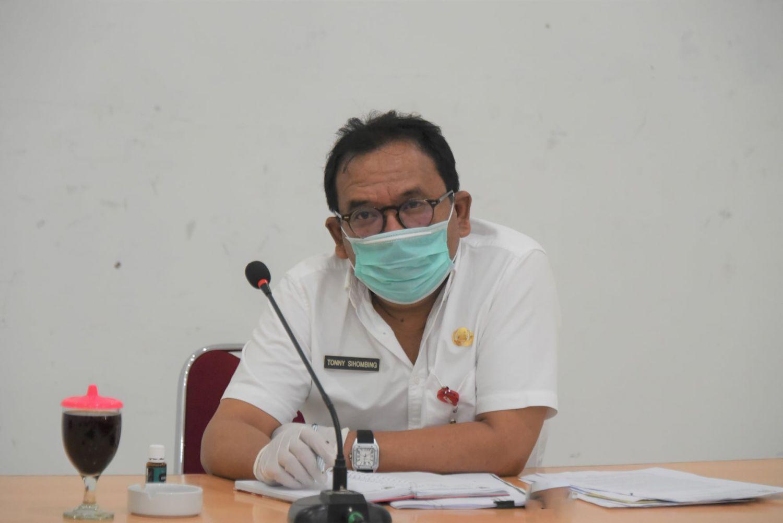 Sekda Pimpin Rapat Antisipasi Peningkatan Covid-19 di Humbang Hassundutan